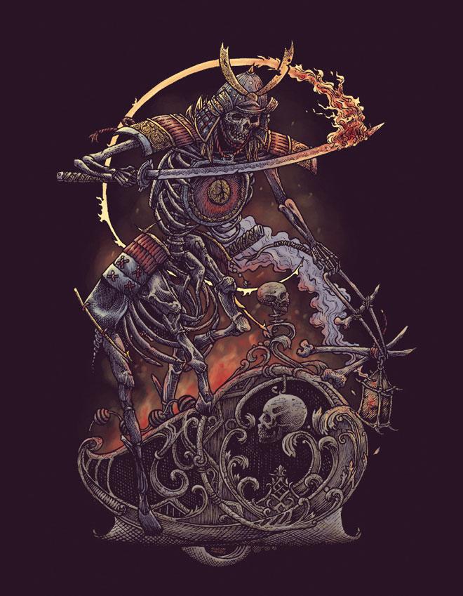 Samuraian Centaur by Moron Fathers