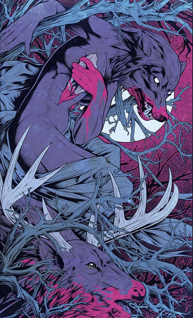 Wolfwoman by Antonio Bravo