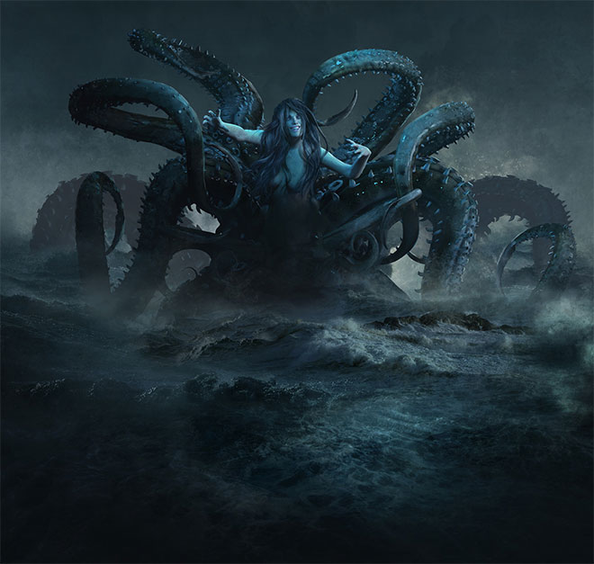 Scylla and Charybdis by Guillem H. Pongiluppi