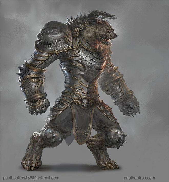 Werewolf Armor by Paul Boutros