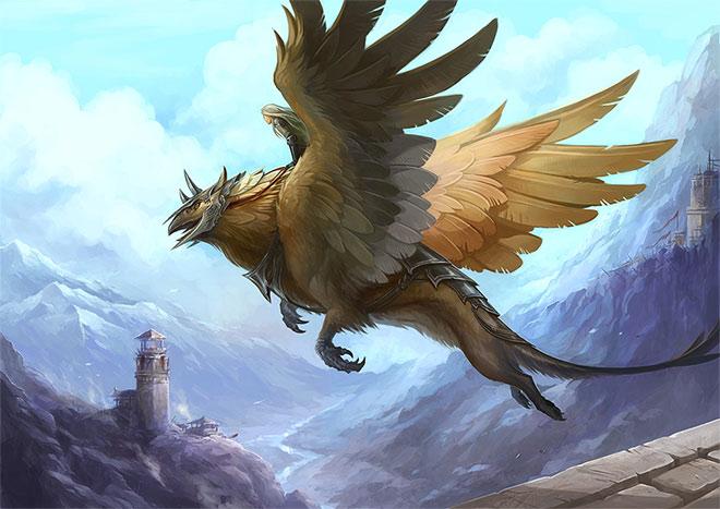Griffin by Sandara