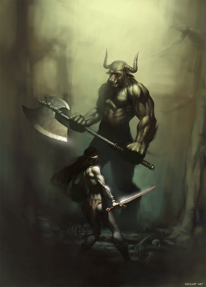 Minotaur by Speeh