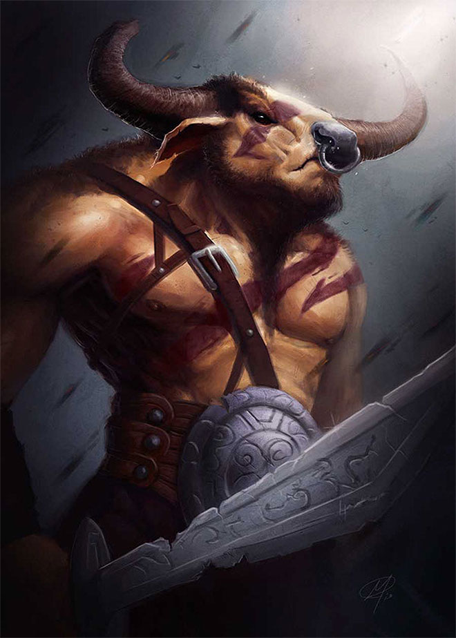 The Minotaur by Adam Miconi