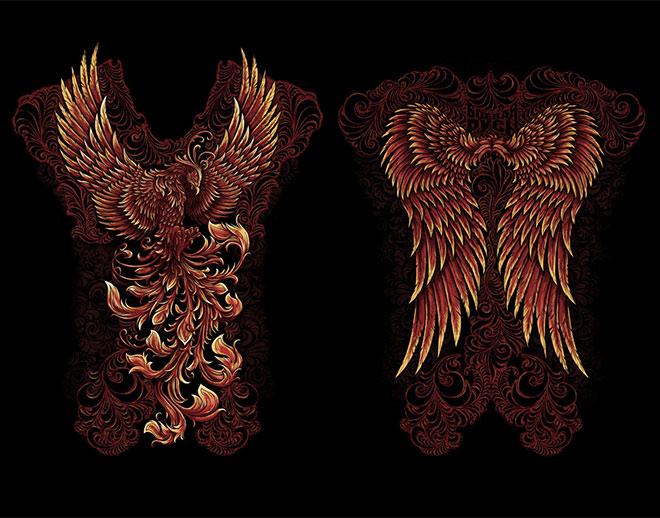 Phoenix by Anna Ezer