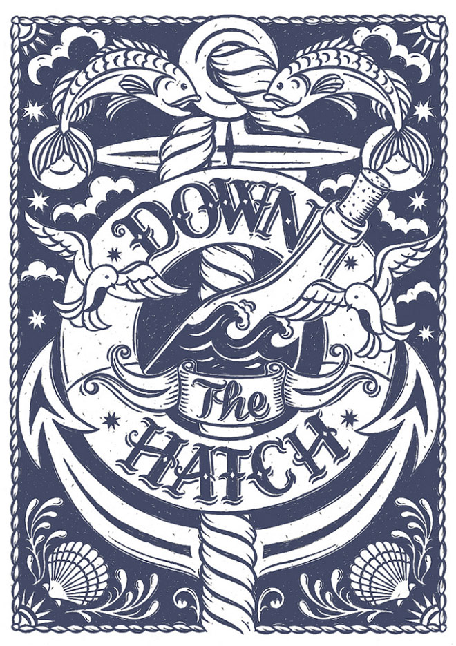 Down The Hatch by Alexandra Snowdon