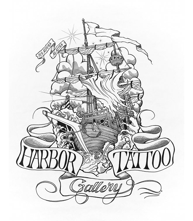 Harbor Tattoo Gallery by Mike Arthurholtz