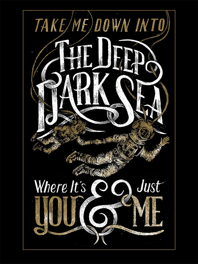 The Deep Dark Sea by Joshua Noom