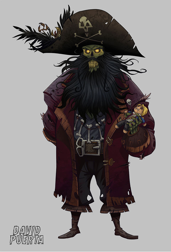 LeChuck by David Puerta Altes