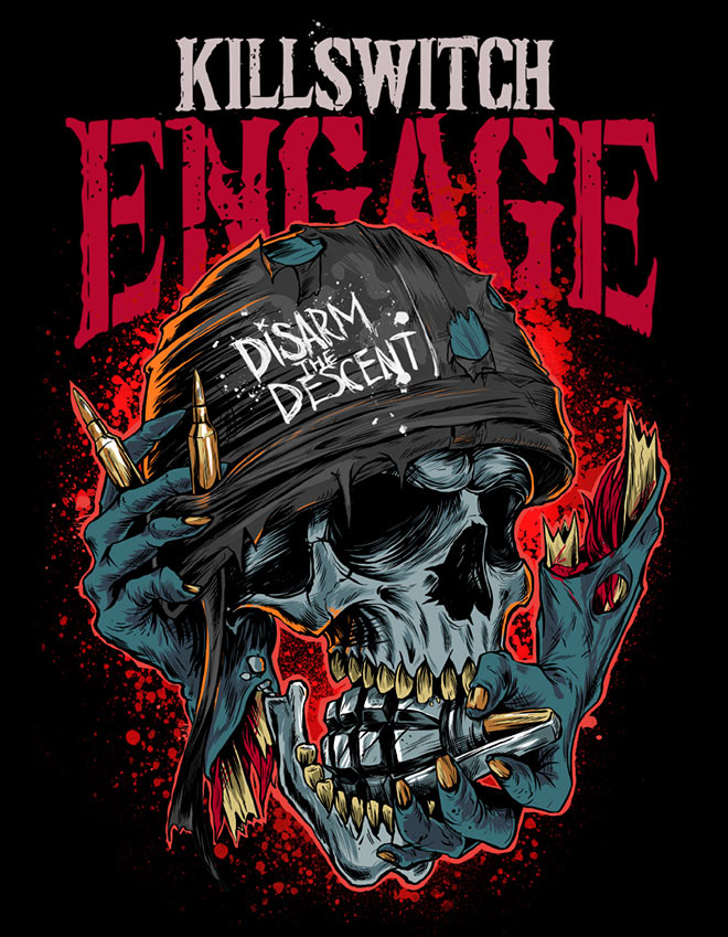 Killswitch Engage by Ottyag Studio