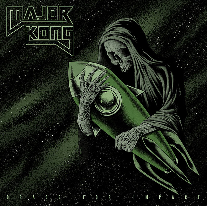 Major Kong Album Cover by Maciej Kamuda