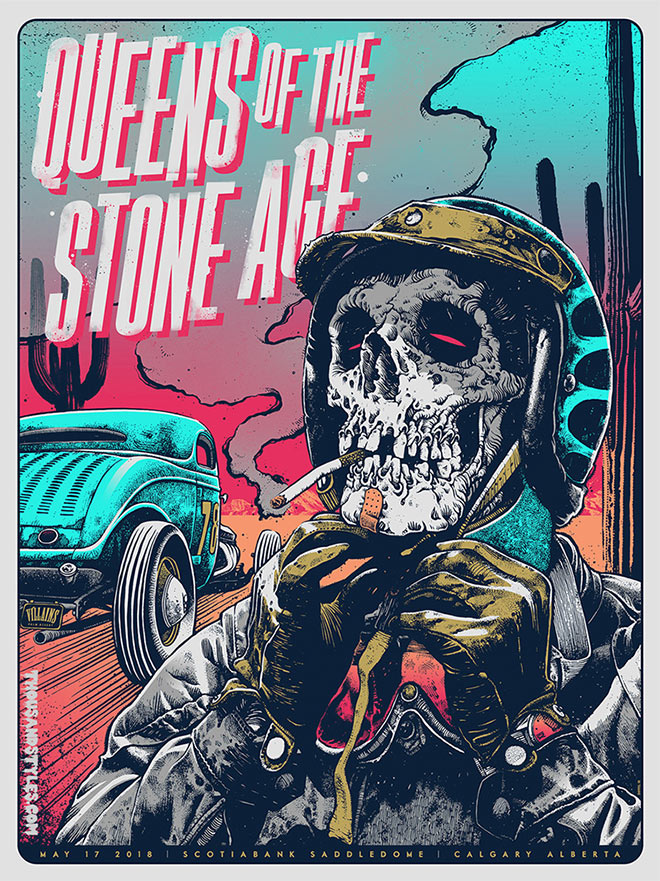 Queens of the Stone Age by Dan Dippel