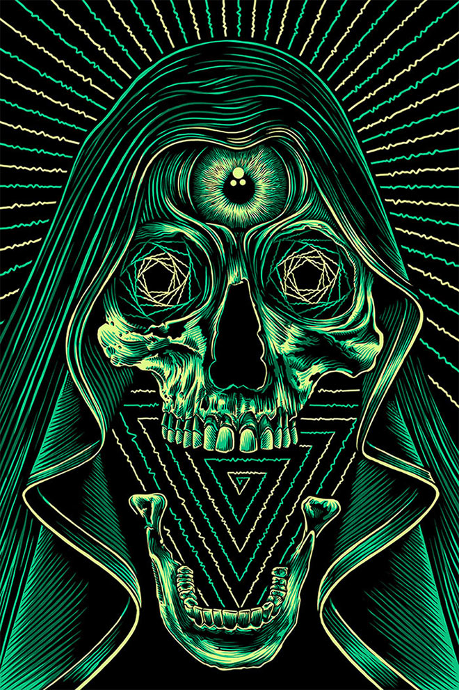 Don't Fear The Reaper by Pale Horse Design