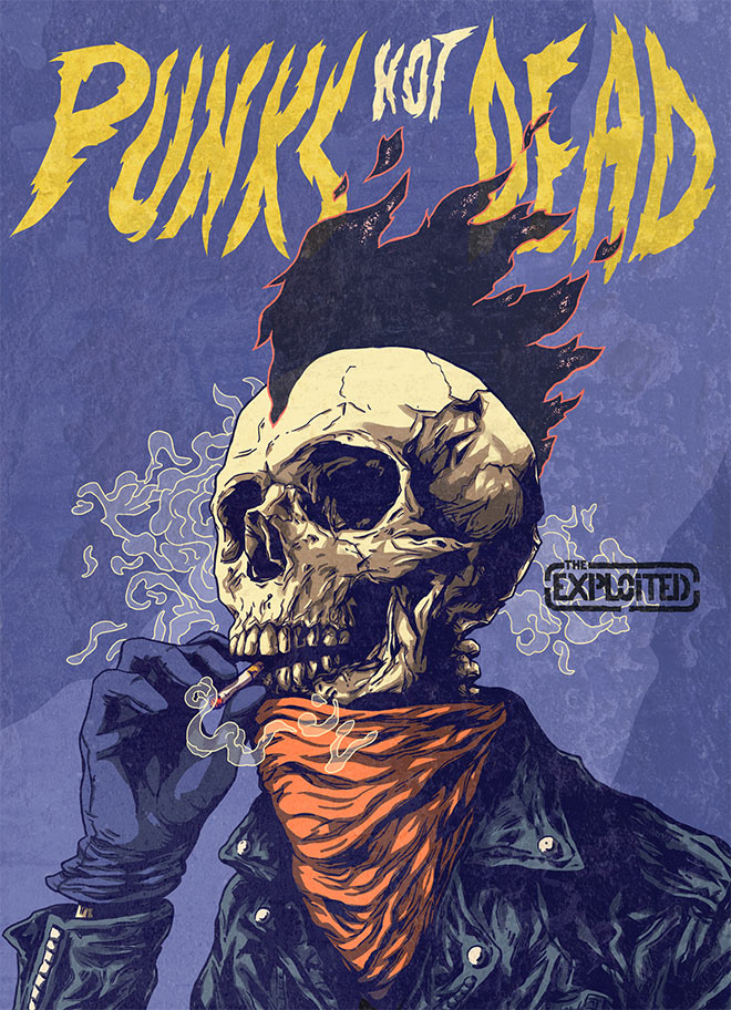 Punk's Not Dead! by Christophe Starace