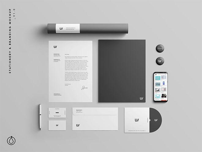 Stationery Branding & Identity Mockup