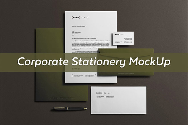 40 Stationery Mockup Templates You Can Download for Free