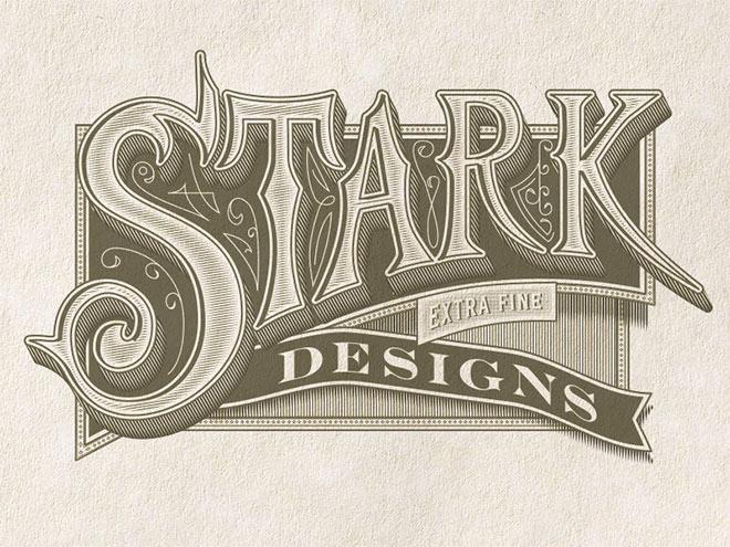 Stark Handletter by Jamie Stark