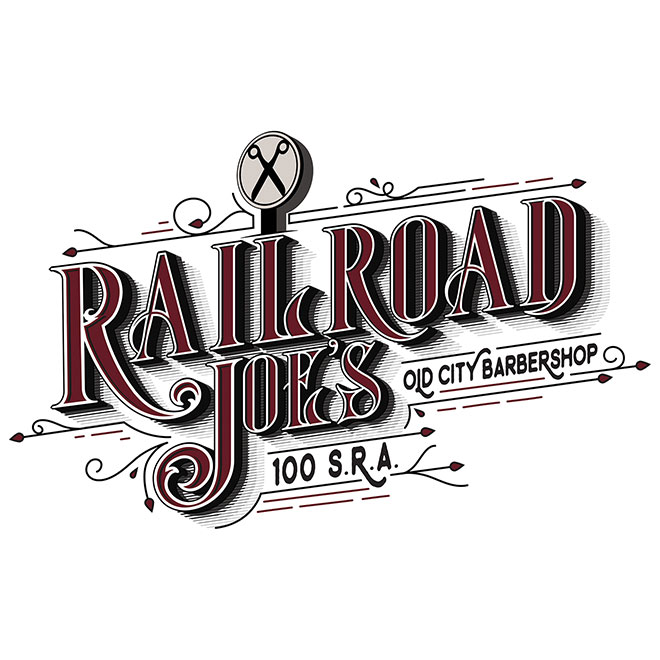 Railroad Joe's Barbershop by Austin Haas