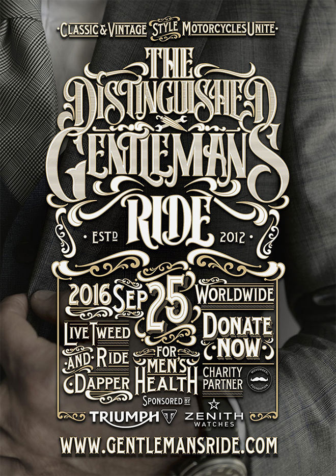 The Distinguished Gentleman's Ride by Like Minded Studio