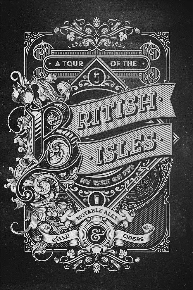 A Tour Of The British Isles by Greg Coulton