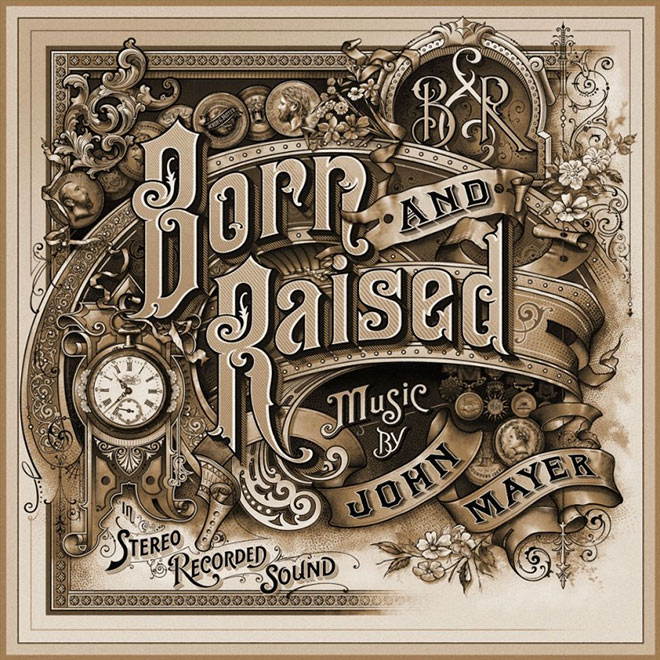 Born & Raised Album Cover by John Mayer
