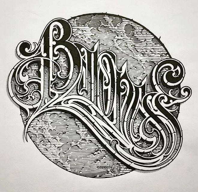Baroness Logo by Aaron Horkey