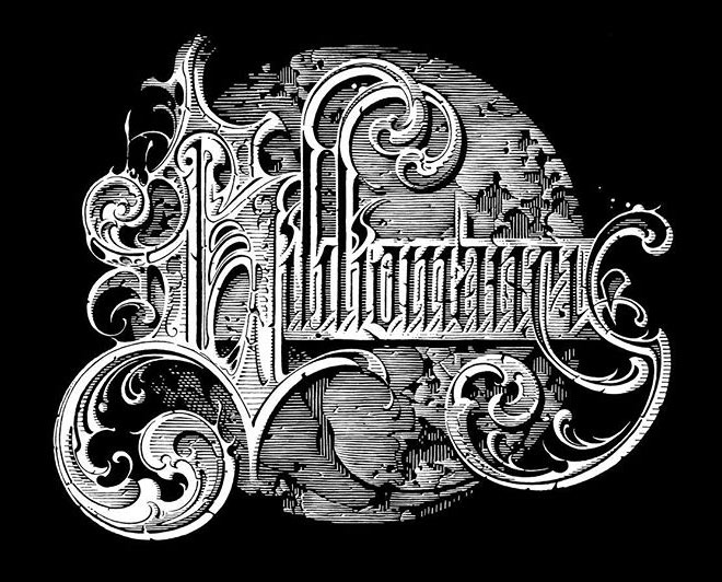 Bibliomancy by Aaron Horkey