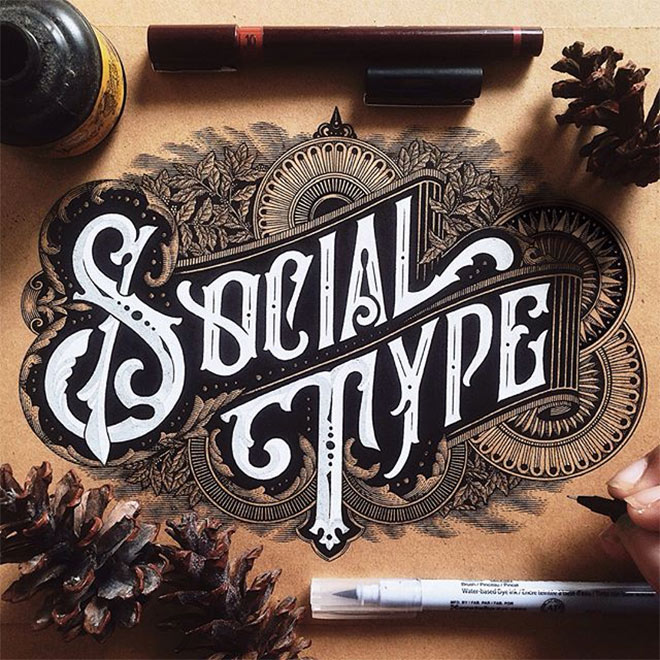 Social Type by Alfonsusabim