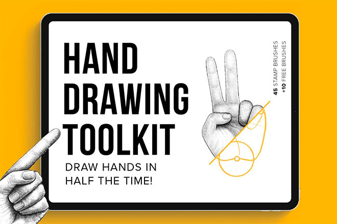 Hand Drawing Toolkit by Riveros Illustration
