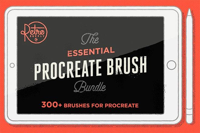 The Essential Procreate Brush Bundle ($49)