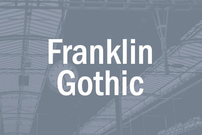 Franklin Gothic