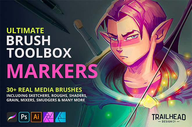 Ultimate Brush Toolbox – Markers