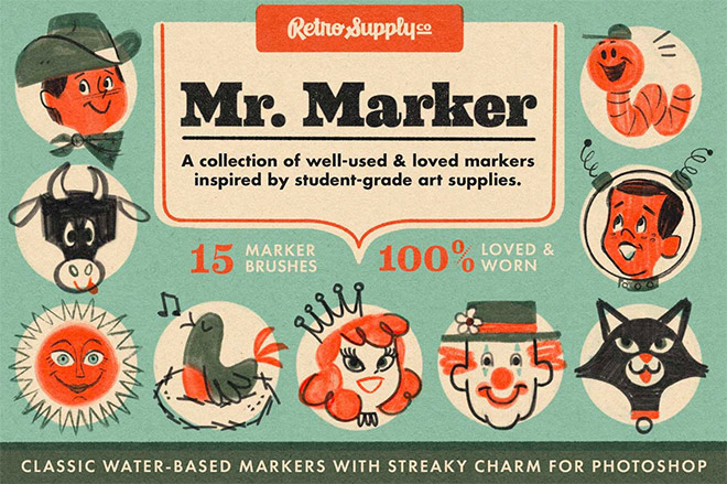MR. MARKER FOR PHOTOSHOP