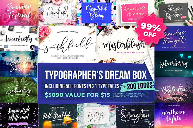 The Typographer's Dream Box