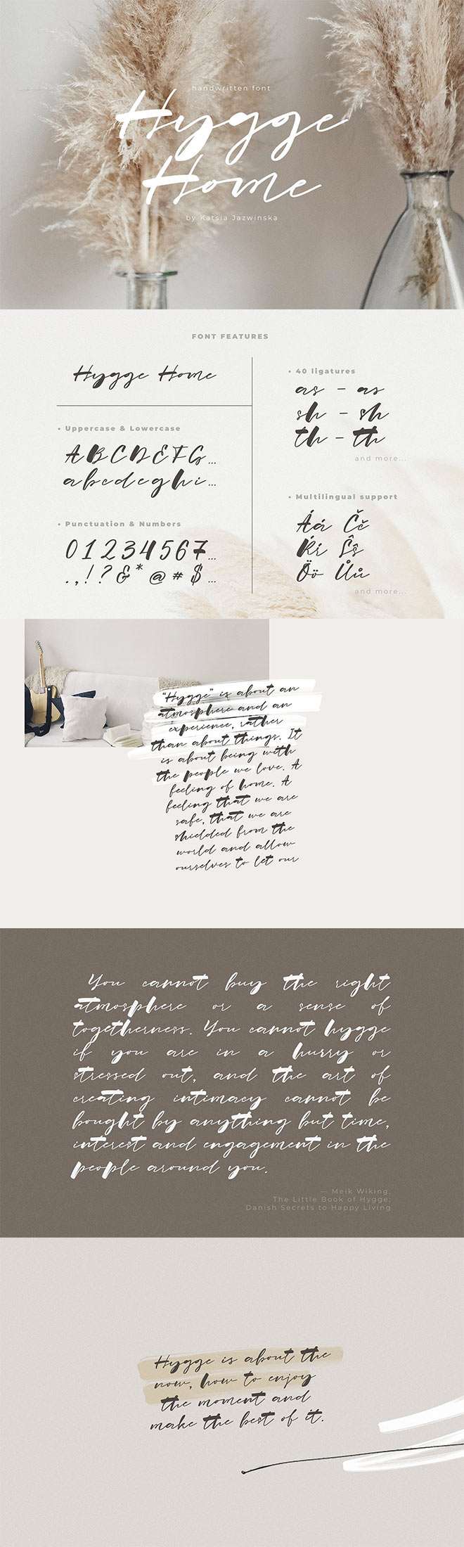 Hygge Home Font