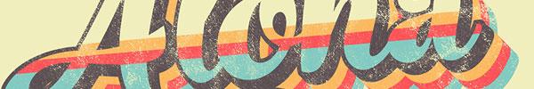 Video Tutorial: Retro Striped Text Effect in Adobe Illustrator