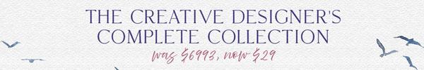 The Highest Value Bundle I've Ever Seen: $6993 Worth of Design Resources for $29!