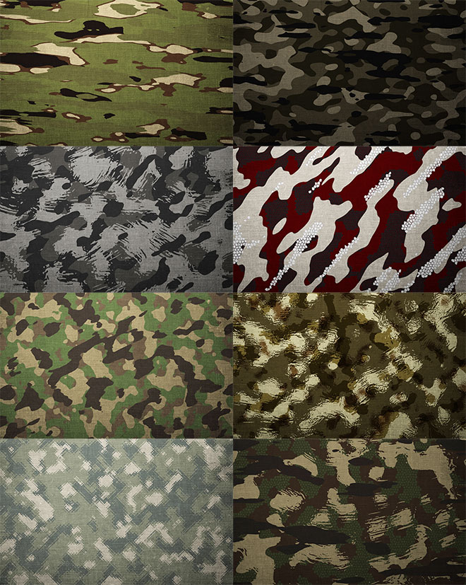 How To Create Custom Camouflage Patterns in Photoshop