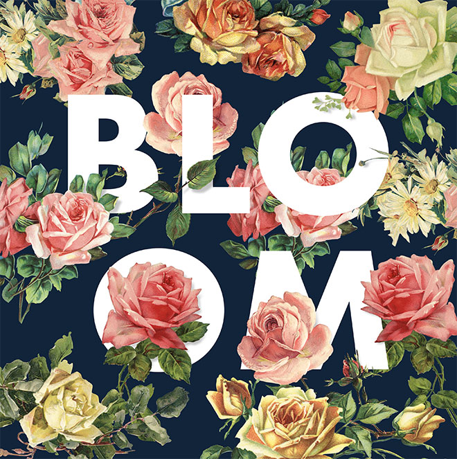 How To Create a Floral Typography Effect in Photoshop