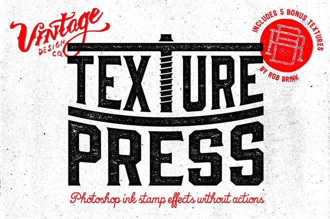 TexturePress – Ink Stamp Effects