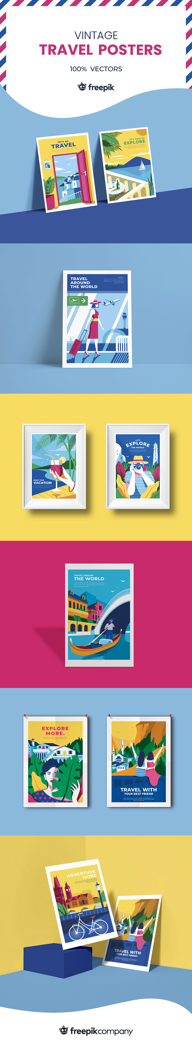 10 Vintage Travel Posters for Access All Areas Members
