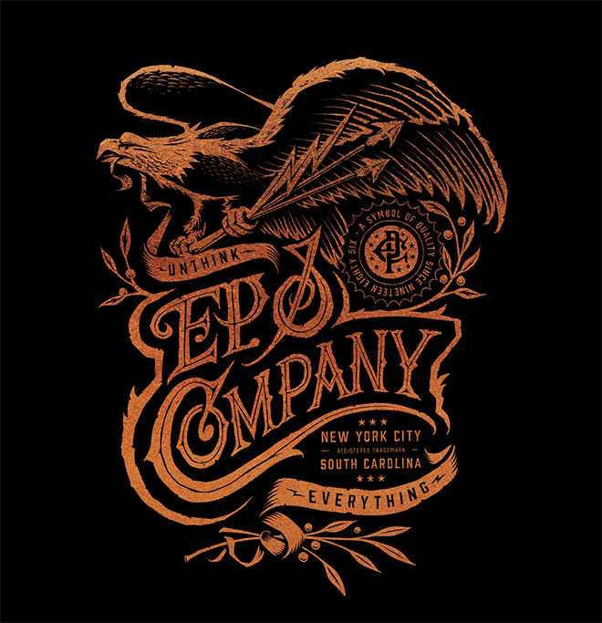 EP & Company Apparel Design by Chad Patterson