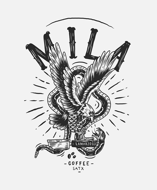 Mila Coffee by Buttery Studio