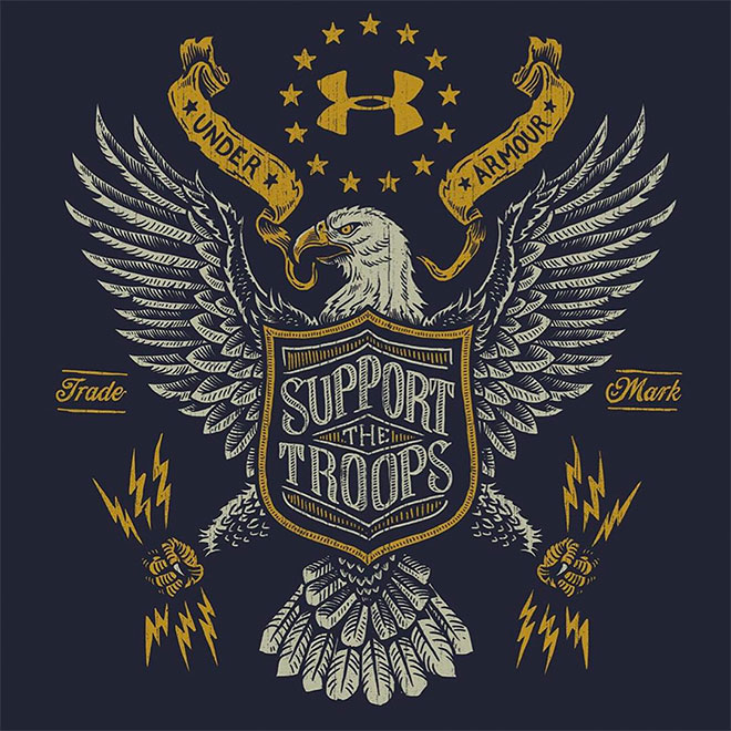 Support The Troops by Derrick Castle