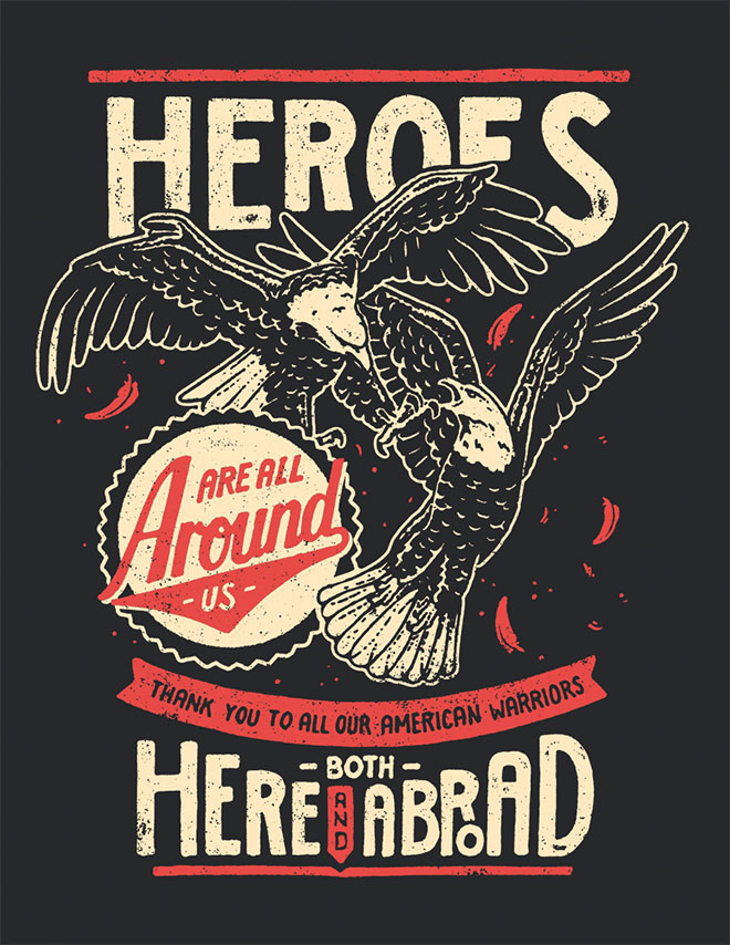 Heroes Around Us by Yondr Studio