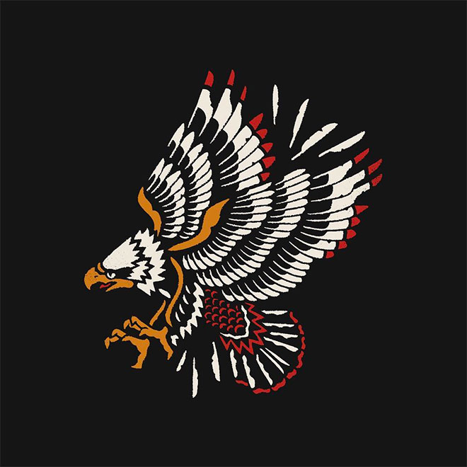 Eagle for Meat Fly Wear by Greyxdays
