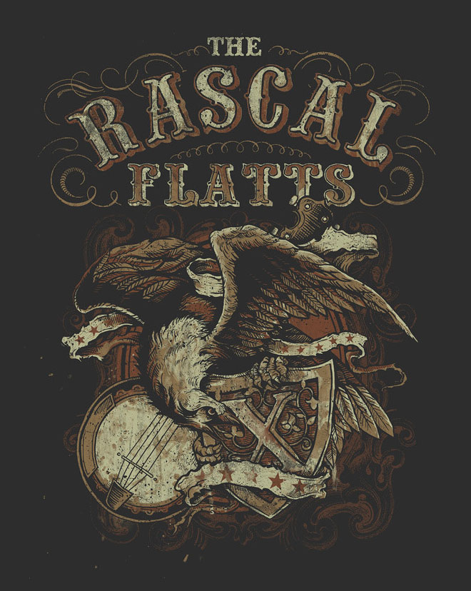 Rascal Flatts by Derrick Castle
