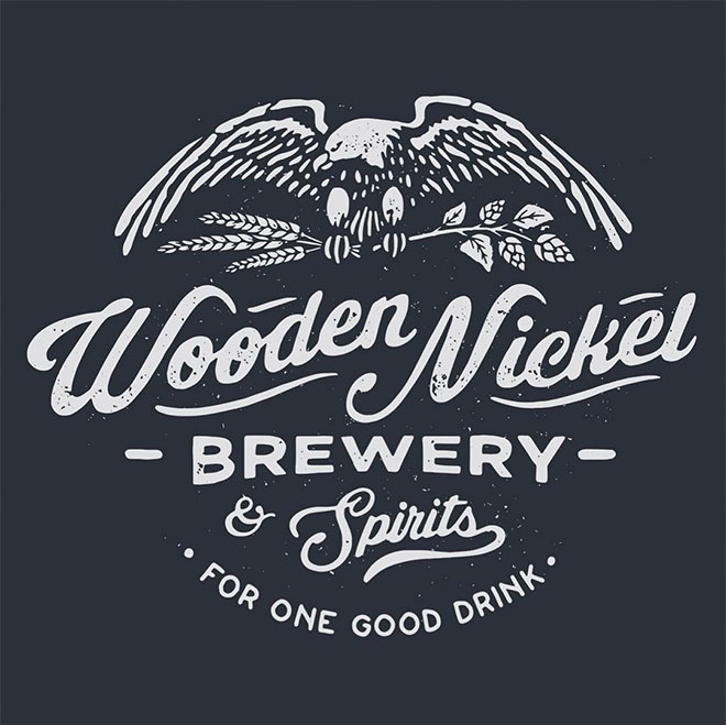 Wooden Nickel Brewery by Trailhead Design Co.