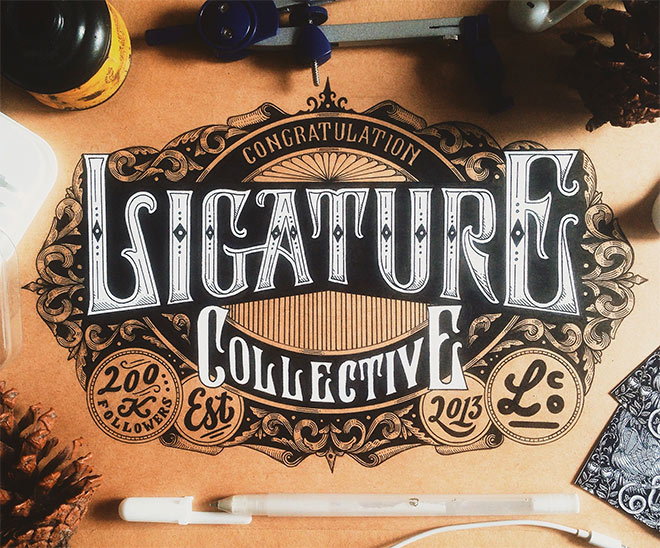 Ligature Collective by Alfonsus Abimatha