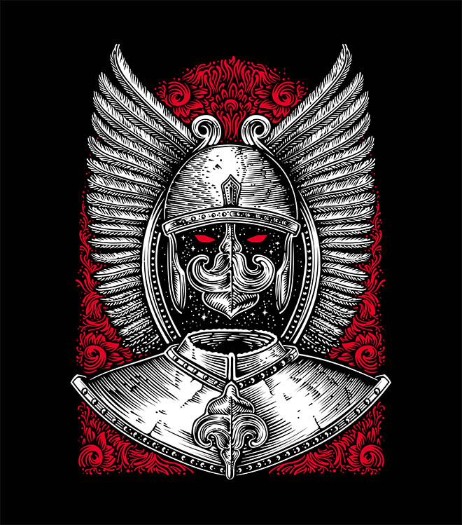 Winged Hussar by Tristan Nuit