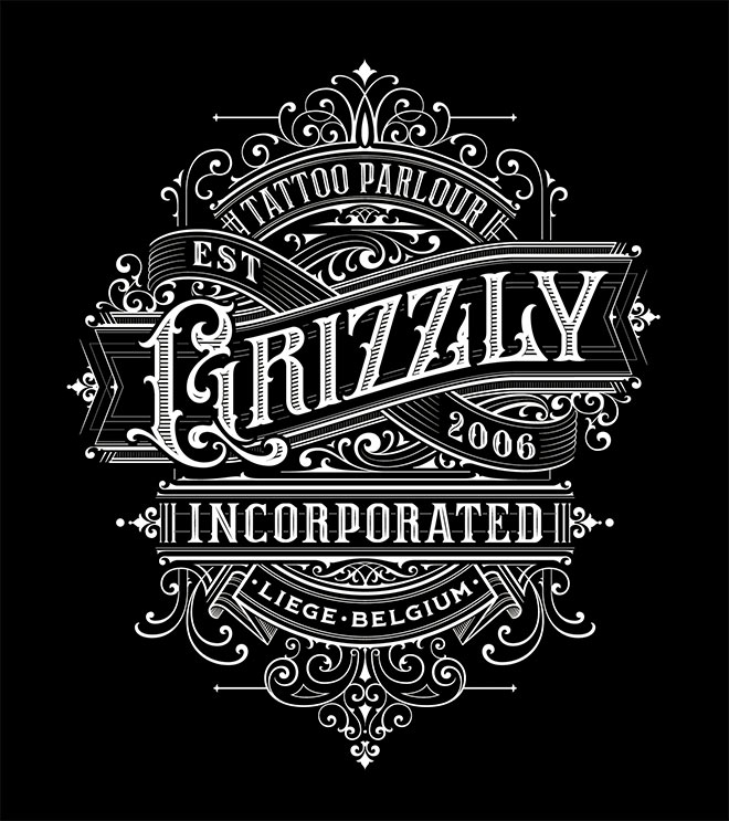 Typography Composition by Mateusz Witczak